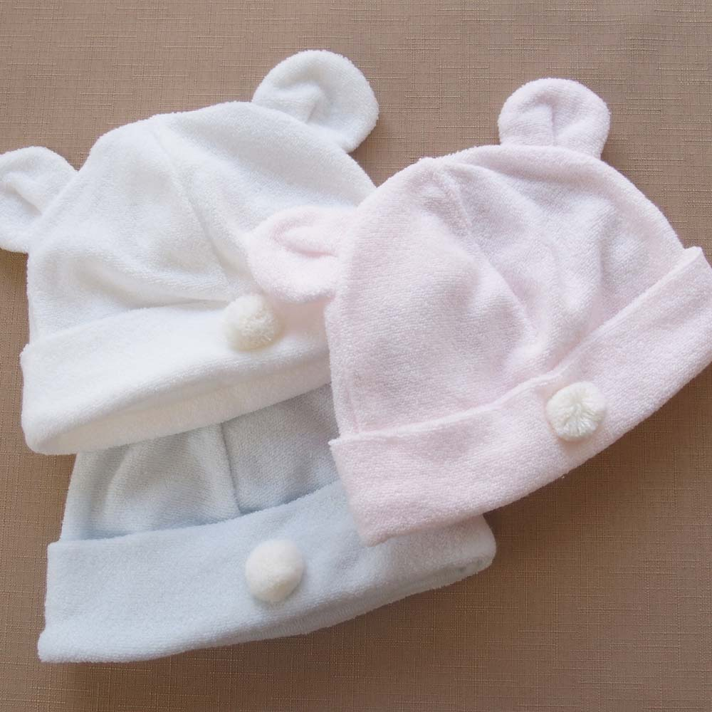 90c4f3e8425e8 新生児ベビー用お帽子 サックス 商品詳細| ベビーネットショップ|お ...